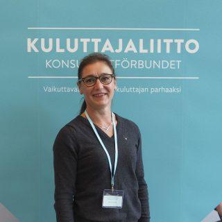 Suomen Potilasasiamiehet ry:n puheenjohtaja Hanna Sykkö