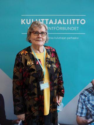 Keski-Uudenmaan Kuluttajien puheenjohtaja Kaisu Mäkinen