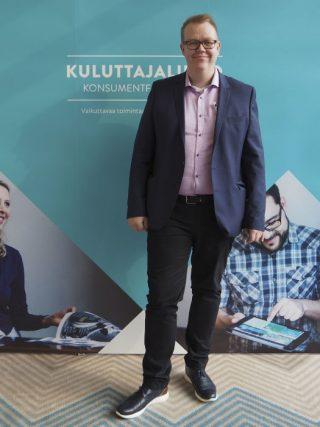Savon Kuluttajien puheenjohtaja Henri Ruuskanen