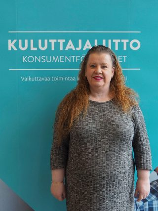 Varsinais-Suomen Kuluttajat ry:n puheenjohtaja Pirjo Hovi-Hairisto