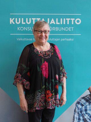 Pirkanmaan Kuluttajat ry:n puheenjohtaja Lea Jääskeläinen